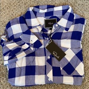 Rails Button down. XS. New with tags
